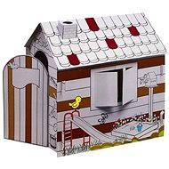 Velký dětský domeček z kartonu