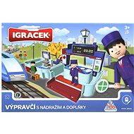 IGRÁČEK - Výpravčí s nádražím a doplňky