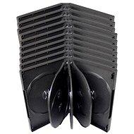 Krabička na 8ks - černá, 33mm, 10pack
