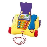 Fisher Price Mluvící tahací telefon CZ/ANG