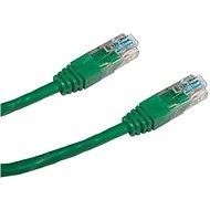 Datacom, CAT5E, UTP, 0.5m, zelený
