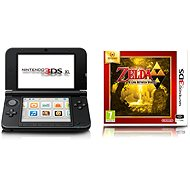 Nintendo 3DS XL Black + Silver