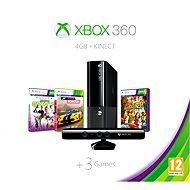 Microsoft Xbox 360 4GB Kinect Bundle + Forza Horizon + Kinect sports 1 + Kinect Adventures