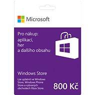 Microsoft Windows Gift Card 800 CZK