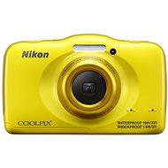 Nikon COOLPIX S32 yellow
