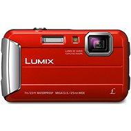 Panasonic LUMIX DMC-FT25 červený