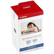 Sada Canon papír + folie pro termosublimační tiskárny KP-108IN