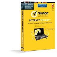 Symantec Norton Internet Security 2014 CZ Upgrade pro 3 uživatele