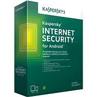 Kaspersky Internet Security pro Android CZ pro 1 mobil nebo tablet na 12 měsíců